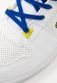 Lacoste - TRAMLINE MID - High-top trainers - white/yellow - 2