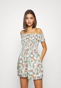 Tommy Jeans - SUMMER PRINTED PLAYSUIT - Jumpsuit - multi-coloured - 0