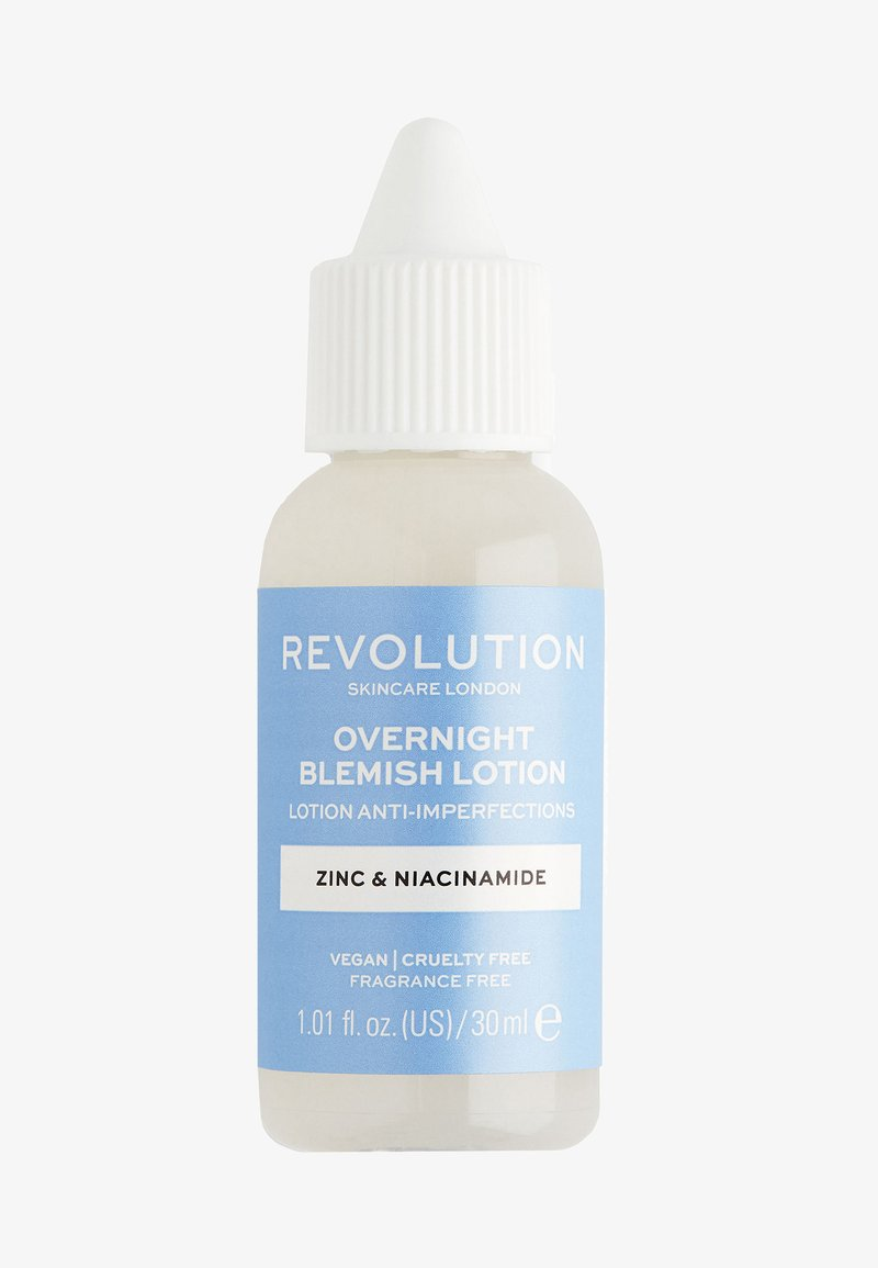 Revolution Skincare - OVERNIGHT BLEMISH LOTION - Nachtpflege - -