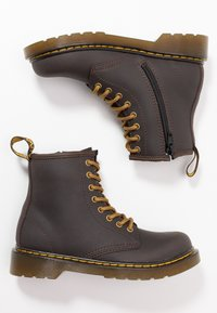 Dr. Martens - 1460 WILDHORSE LAMPER - Lace-up ankle boots - gaucho - 0