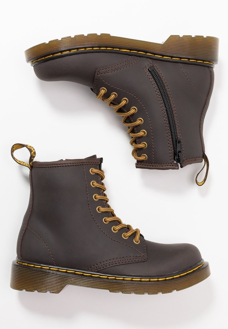 Dr. Martens - 1460 WILDHORSE LAMPER - Lace-up ankle boots - gaucho