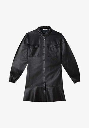 MIT KNÖPFEN  - Košilové šaty - black