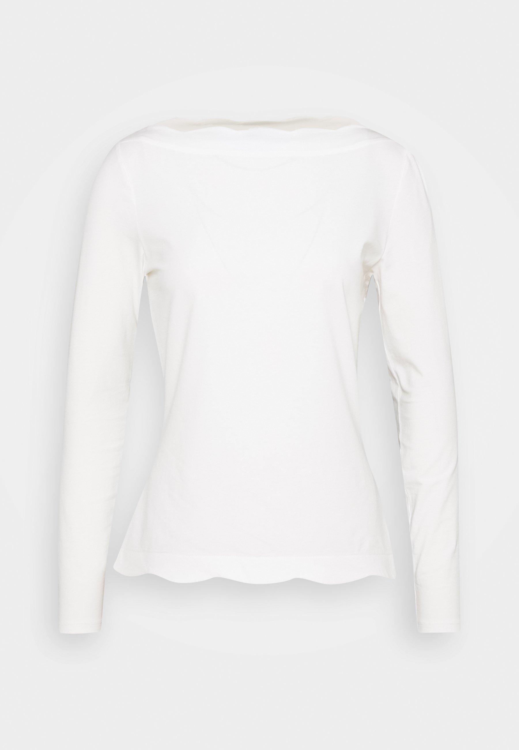 Women SCALLOP - Long sleeved top