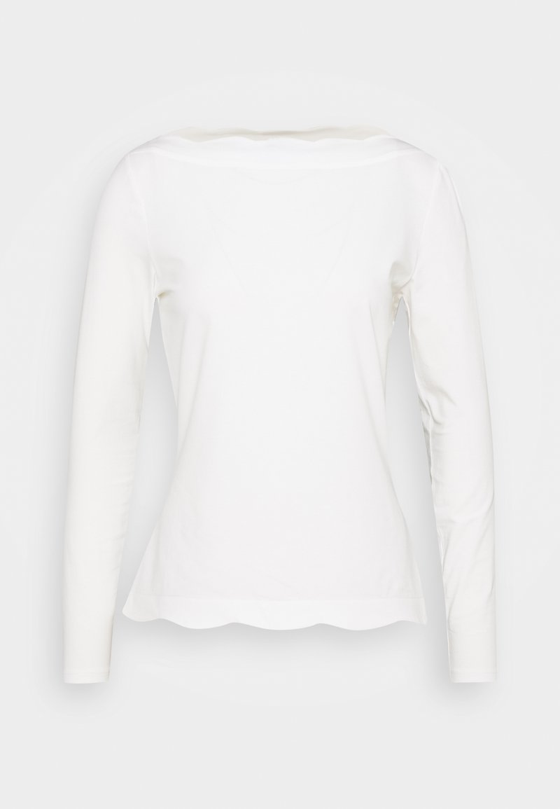Esprit Collection - SCALLOP - Long sleeved top - off white