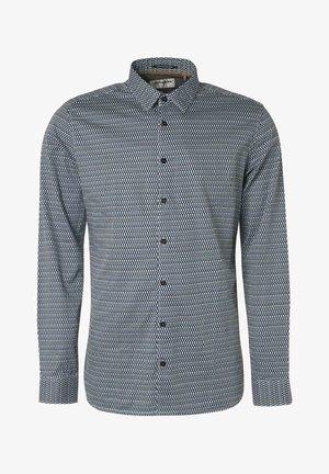 Overhemd - dark aqua
