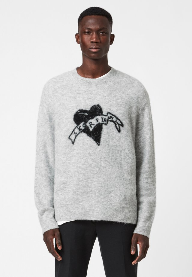 HEART  - Neule - grey