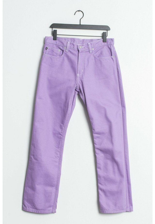 Straight leg jeans - purple
