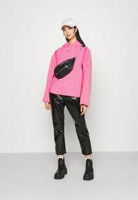 Nike Sportswear - HOODIE - Sweatshirt - hyper pink/lotus pink/black - 1