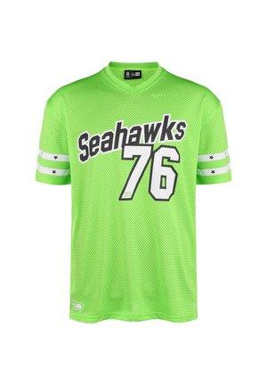SEATTLE SEAHAWKS - Camiseta estampada - green