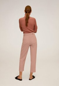 Mango - ELISA - Trousers - pink - 2
