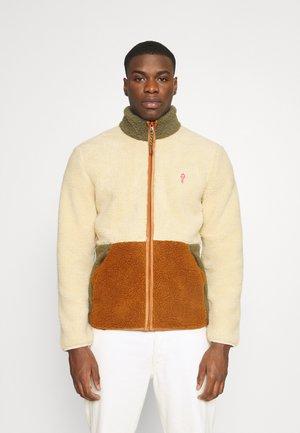 BLOCKED - Fleece jacket - offwhite