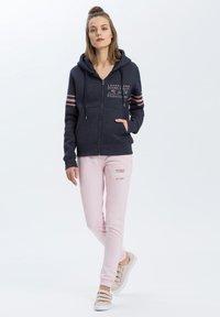 Cross Jeans - Zip-up hoodie - navy-meliert - 1