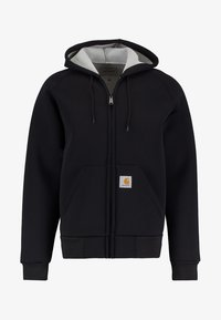 Carhartt WIP - CAR-LUX HOODED - veste en sweat zippée - black/grey - 5