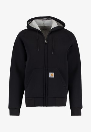 CAR-LUX HOODED - Zip-up hoodie - black/grey