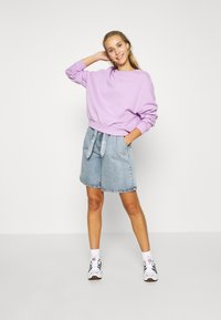 Even&Odd - Oversized Sweatshirt - Sweater - lilac - 1