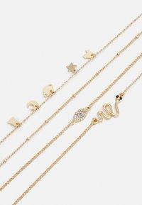 Pieces - PCLIMO BRACELET KEY BRACELET 4 PACK - Bracelet - gold-coloured - 2
