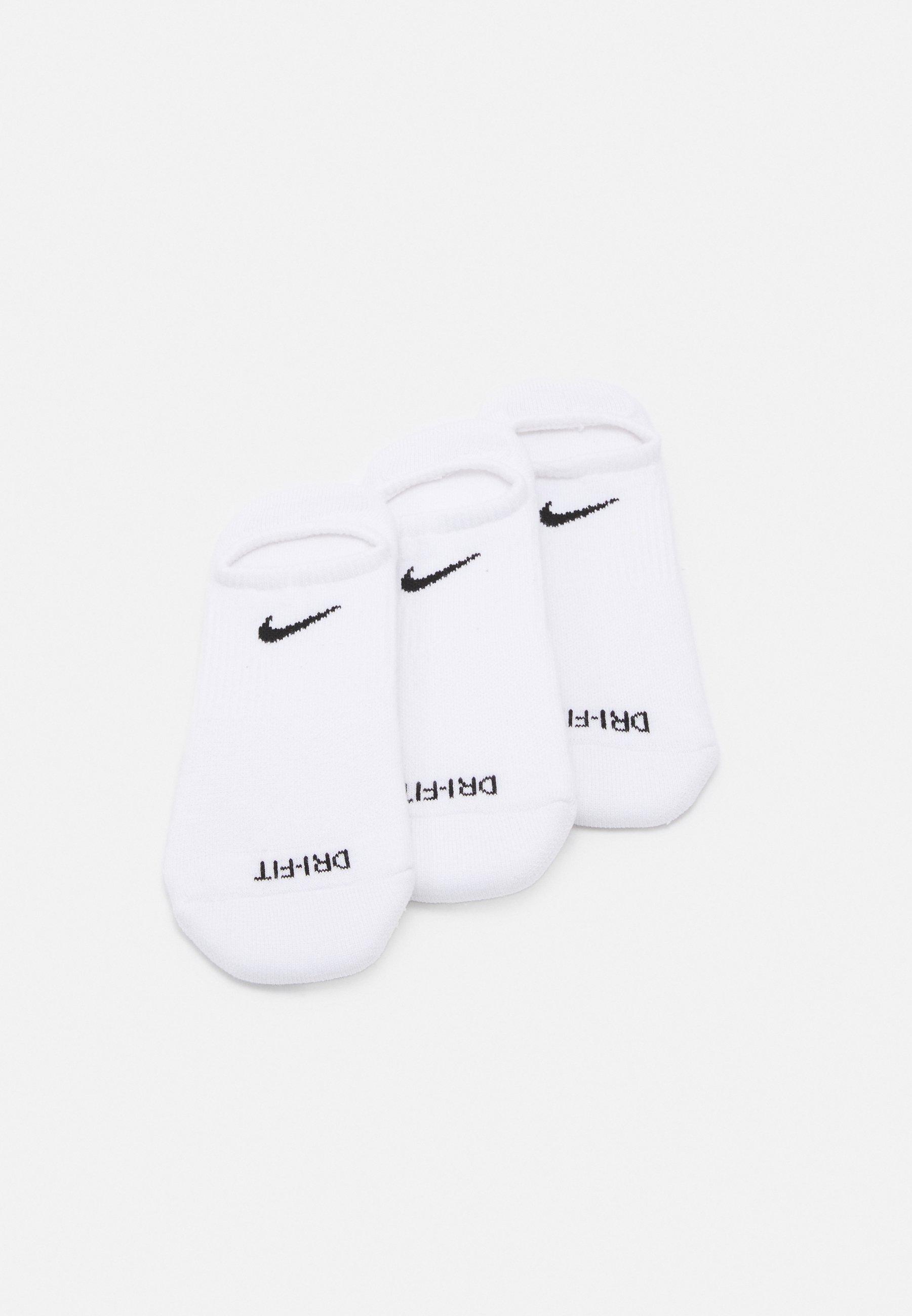 Men EVERYDAY PLUS CUSH FOOTIE 3 PACK UNISEX - Sports socks