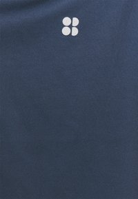 Sweaty Betty - ALL DAY SHORT SLEEVE - T-shirt print - navy blue - 2
