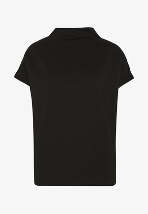 KITTUA TEXTURE - T-shirts - black