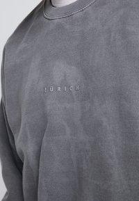Topman - UNISEX ZURICH PUFF  - Sweatshirt - grey - 5