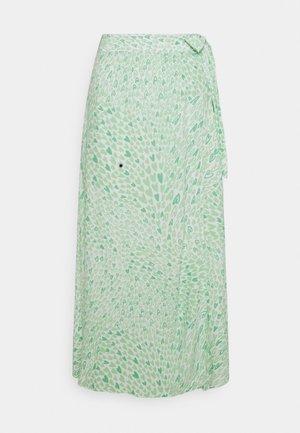 BOBO TARA SKIRT - Spódnica z zakładką - green