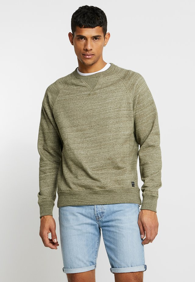 Sweatshirt - forest night green
