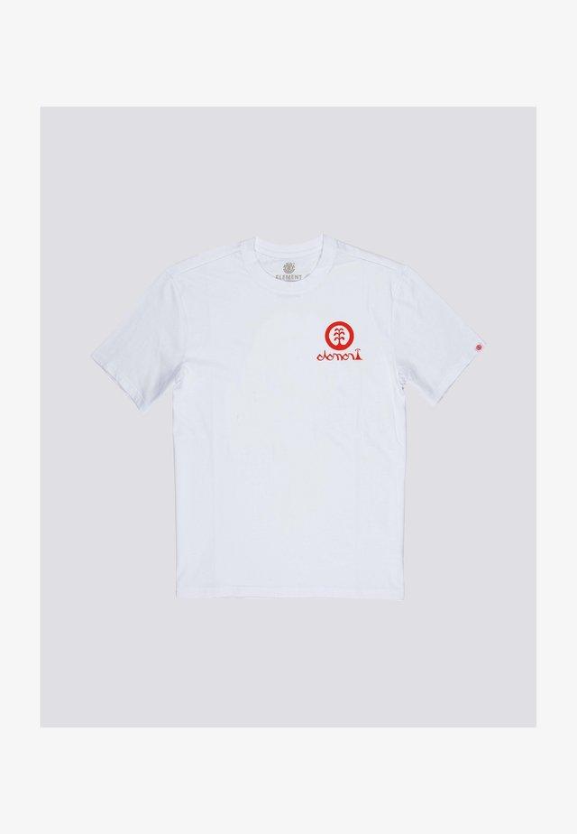 Javier Mendizabal - T-shirt print - optic white
