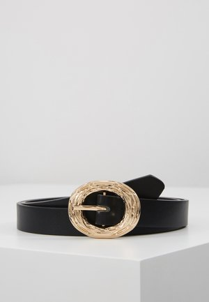 LINDI BELT - Ceinture - black/gold