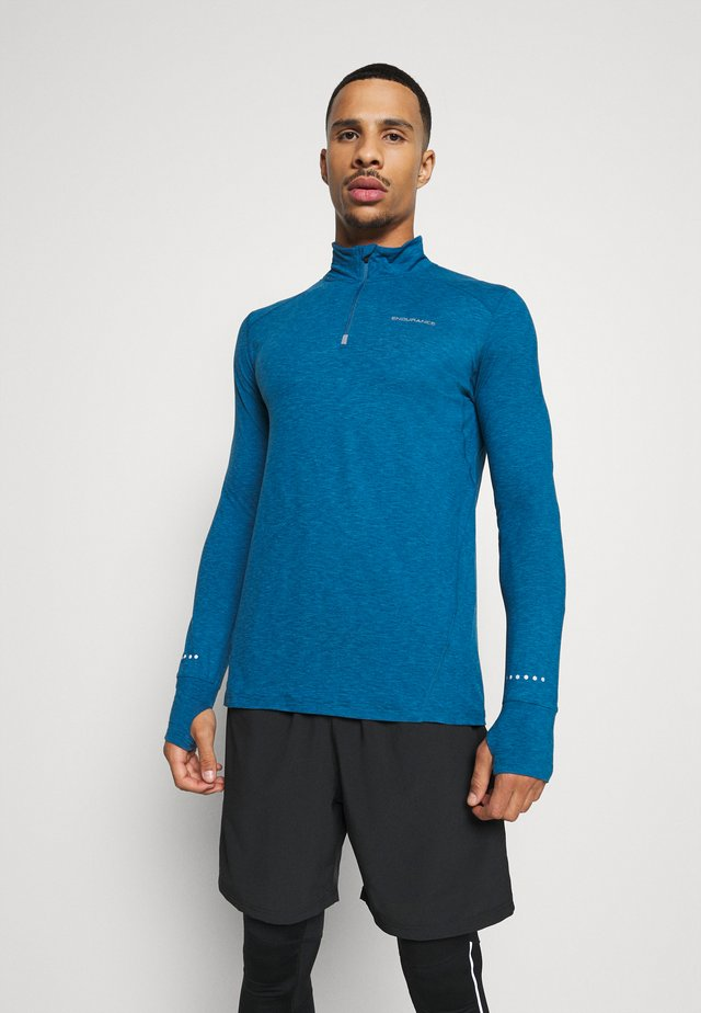 TUNE MIDLAYER - Sports shirt - poseidon