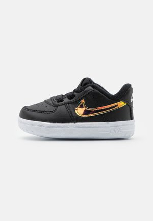 FORCE 1 CRIB UNISEX - First shoes - black/multicolor/white