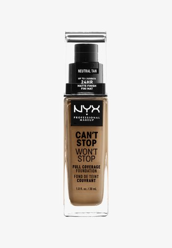 CAN´T STOP WON´T STOP 24H FOUNDATION - Foundation - neutral tan