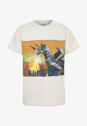 ROAD - Print T-shirt - white