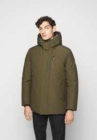 Save the duck - COPY - Winter jacket - thyme green - 0