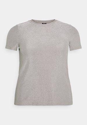 VMADALYN GLITTER - Jednoduché triko - silver sconce