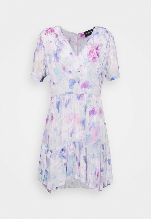 DRESS - Robe d'été - white / lavender