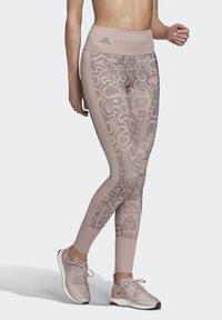 adidas by Stella McCartney - PRIMEBLUE TRAINING LEGGINGS - Legging - pink - 4