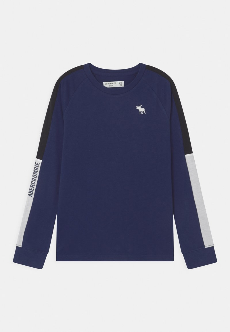Abercrombie & Fitch - COZY SPORTY - Long sleeved top - navy