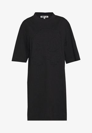 BOTAN DRESS - Žerzejové šaty - darkest black