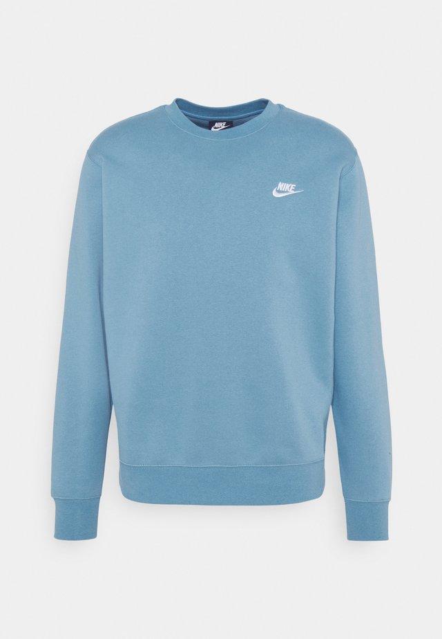 Sweatshirt - cerulean/white