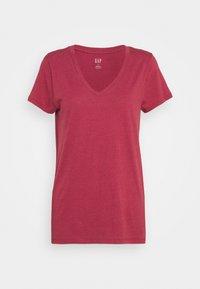 GAP - FAV - T-shirt basic - red clay - 3