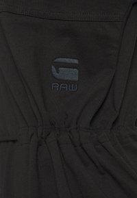 G-Star - ADJUSTABLE WAIST DRESS - Jerseyjurk - black - 2