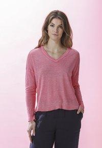 Rosa & Me - AMELIE - Long sleeved top - pink lemon - 3