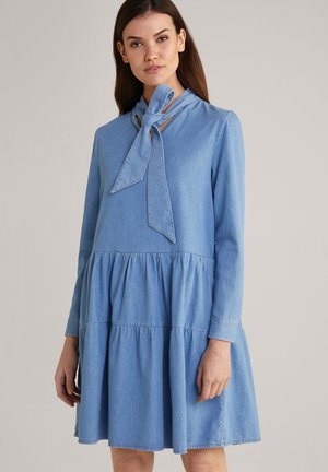Denim dress - hellblau