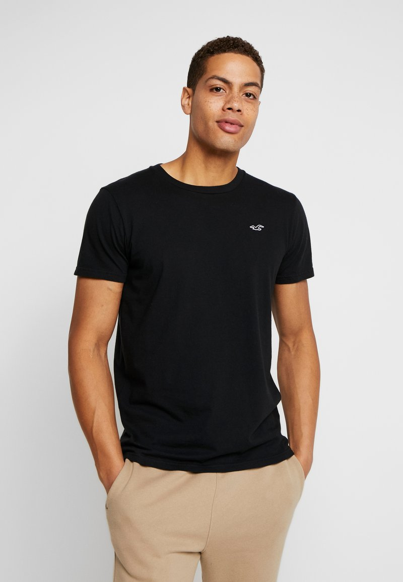 Hollister Co. - CREW - T-shirt imprimé - black