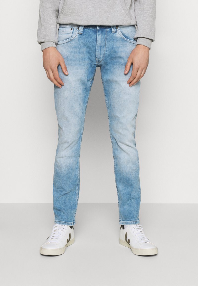 Pepe Jeans - CASH - Slim fit jeans - light blue denim