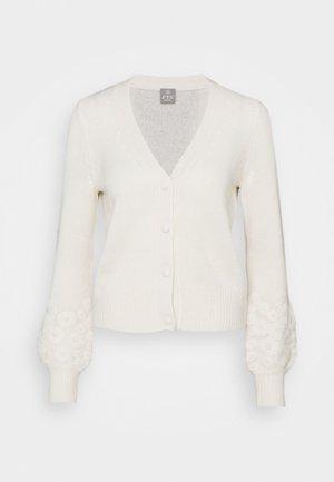 CARDIGAN - Cardigan - pristine white
