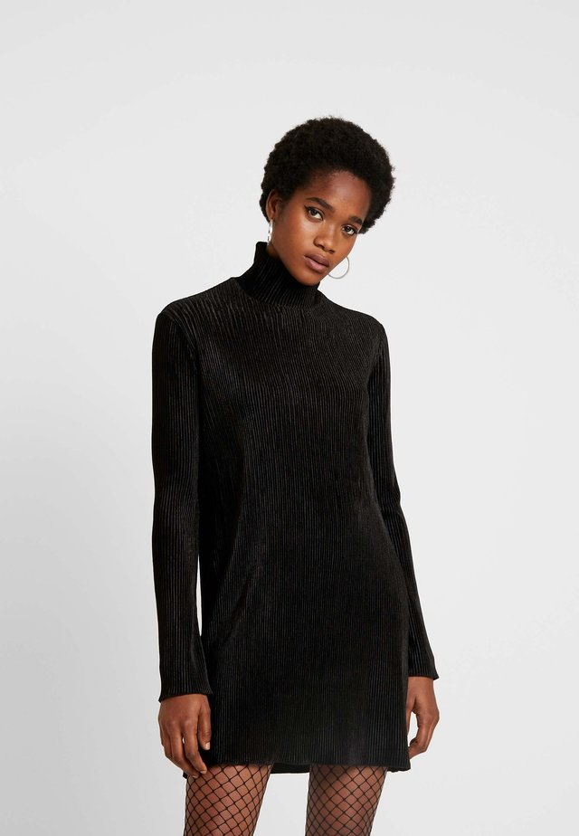ADA DRESS - Vestito di maglina - black