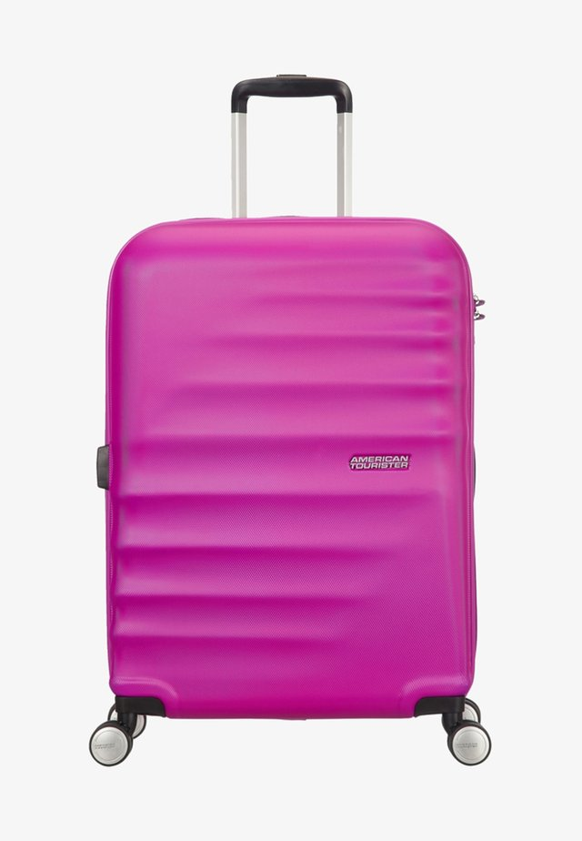 WAVEBREAKER - Wheeled suitcase - pink