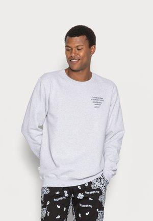 Makia x Olle Eksell Moshpit Sweatshirt - Collegepaita - light grey