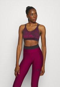 adidas Performance - BRA - Urheiluliivit: keskitason tuki - purple - 0
